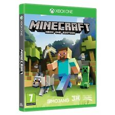 Minecraft Game XBOX One Brand New