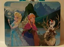 FROZEN ELSA ANNA & FRIENDS COLLECTABLE 3D LUNCH BOX WITH FREE 48 PC PUZZLE