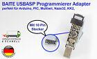 Neu BAITE USBASP USBISP Programmierer schwarz für KK2 SimonK Arduino PIC