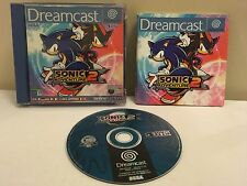 SONIC ADVENTURE 2 Sega DREAMCAST GAME COMPLETE Pal ~ 1ST CLASS P&P