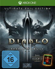 Xbox One Spiel: Diablo 3 XB-One Ultimate Evil Ed. inkl Reaper of Souls Neu & OVP