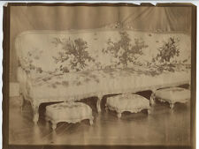 ANTIQUE UNMOUNTED ALBUMEN LOUIS XV FURNITURE.