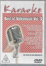 DVD--KARAOKE--BEST OF VOLKSMUSIK VOL 2
