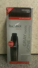 Touch Back® Quix® Temporary Hair Color Marker 3/4 Dark Brown 30 + Applications