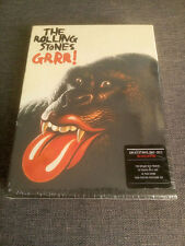 The Rolling Stones GRRR! 3 CD +hardback book+posters DELUXE LONG BOX SEALED