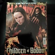 METAL HAMMER Children of Bodom #177 April 2008 Trivium, In Flames, Opeth,