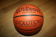 Wilson Evolution Official Men's Size 29.5 Indoor Used Game Basketball