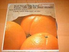 David Oistrach-violin Recital-mono Lp-parliament-118