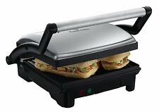 Grill 3 en 1 Cook@home - Grill / Panini / Barbecue table - 1800 W - Noir - NEUF