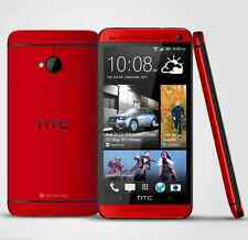 "4.7"" HTC One M7 Red Unlocked Mobile Phone - 3G  32GB 4.0MP Quad-core Android OS"