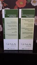 UNA Oxigenating & Restructurizing Treatment for Damaged Hair 90ml - Pack Of 2