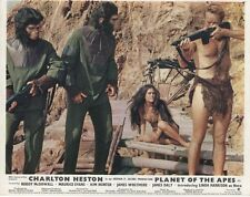 PLANET OF THE APES  lobby cards CHARLTON HESTON, RODDY McDOWELL