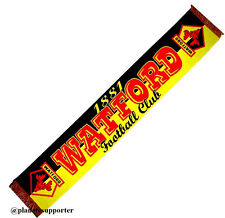 ECHARPE WATFORD FC Angleterre scarf schal cachecol sjaal no drapeau maillot ...