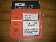 REVUE TECHNIQUE CITROËN GS 1220 convertisseur - club..... berline - break