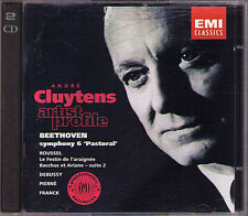 ANDRE Cluytens: Beethoven Symphony No. 6 Debussy grafica pierne Franck Roussel 2cd