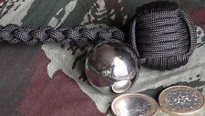"Monkey'S Fist ø28mm Bille Acier STEEL BALL (""Self Defense""Survie"")"