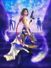 Final Fantasy X-2 Yuna - A3 Laminated Poster - 10 2 - Rikku paine