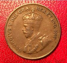 1925 Canada Coin One Cent  Better Grade