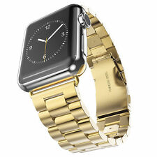 Stainless Steel Wrist Bracelet Clasp for Apple Watch iWatch Band 42mm 38mm