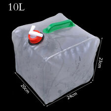 10L Portable Folding Water Storage Lifting Bag Camping Hiking Survival Kit Tool