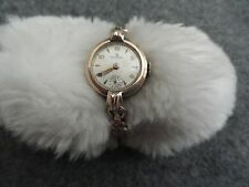 Vintage Wind Up Helbros Ladies Watch with a Stretch Band - Problem