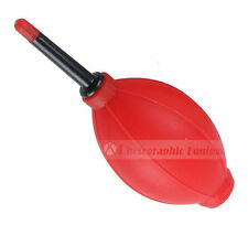Red Bulb Air Dust Blower Camera Lens Filter Cleaner UK Seller