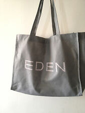 Grand sac shopping Bag gris de la marque EDEN SHOES - mode blog kate chaussures