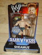 2011 WWE WWF Mattel Sheamus Survivor Series Wrestling Figure MIP 1 of 1000 Chair