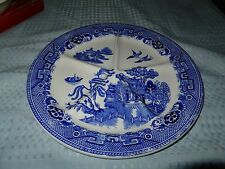 Petrous Regout Holland Blue Willow Five Section Plate/Charger