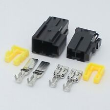 5sets - 9.5MM 2pin Automotive connectors 80A big high amps car refit