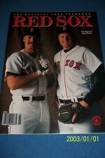 1988 BOSTON RED SOX Yearbook WADE BOGGS Roger CLEMENS Dwight EVANS Near Mint