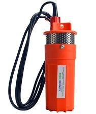 24v Submersible Deep Well Water Dc Pump Alternative Energy Solar Battery-AM