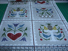 3 Yards Quilt Cotton Fabric - Maywood Folk Art Home Patch Panel Taupe