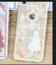 Disney Alice In Wonderland Clear Silicone Gel Case For iPhone 5/5s