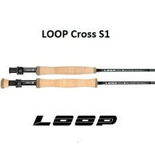 LOOP CROSS S1  (Flatsman) 9' #10 Fly Rod 4PCE **2016**CROF1090-4MF