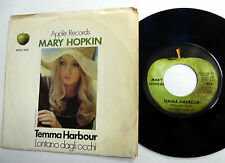 MARY HOPKINS 45 Temma Harbour APPLE label PIC SLV 70's Pop ROCK w5356