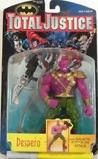 TOTAL JUSTICE-DESPERO CON GALACTIC BODY BLOW ATTACK-KENNER-MIS CM. 16-ANNO 1996