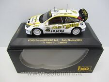 1:43 FORD Focus RS WRC FastWeb Valentino Rossi Rally Monza 2006 IXO RAM255