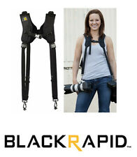 BlackRapid RSD-1BB Sling Camera Strap DOUBLE  Ballistic Nylon (Black)