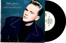 """HALO JAMES - COULD HAVE TOLD YOU SO / WELL OF SOULS - 7"""" 45 RECORD PIC SLV 1989"""