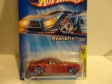 2005 Hot Wheels #6 Red '05 Ford Mustang GT w/PR5  Wheels Chrome Interior