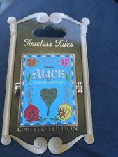 Disneyland Timeless Tales Alice in Wonderland Disney Pin  LE 3000 Cheshire