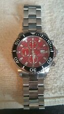Invicta Chronograph 1070 Wrist Watch with Valjoux 7750 Swiss Made Automatic