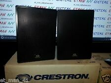 "CRESTRON AIR_SR8 INDOOR OUTDOOR 8"" Outdoor Speakers 200W BLACK 200 Watts"