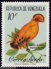VENEZUELA 1961 10c BIRD Golden Cock of the rock 1v MNH @S4218