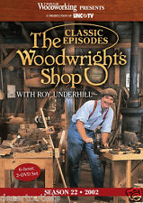 NEW! The Woodwright's Shop with Roy Underhill Season 22 [DVD]