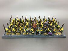 WARHAMMER FANTASY BATTLE AGE OF SIGMAR GOBLIN NIGHT GOBLIN SPEARMEN MAGNETISED