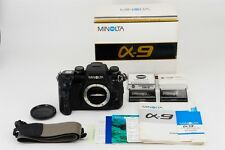【Exc+++】 Minolta α 9 Alpha Maxxum 35mm SLR Film Camera Body from japan #224