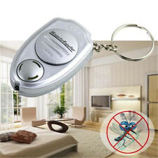 Mini Portable Electronic Ultrasonic Mosquito Pest Repeller Keychain Flashlights