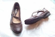 womens thom mcan hawthorne brown leather mary jane shoes size 6 1/2